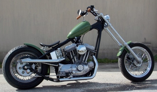on Swedish Choppers Sportster